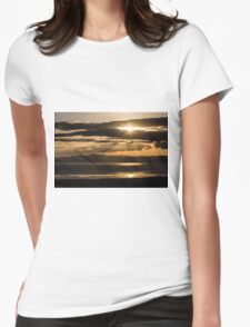 Donegal Sunset Womens Fitted T-Shirt