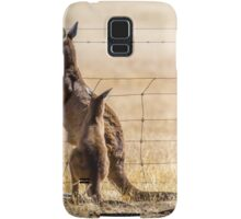At the fence Samsung Galaxy Case/Skin