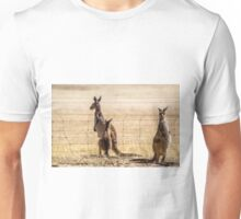 At the fence Unisex T-Shirt