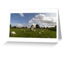 Avebury Stone Circle Greeting Card