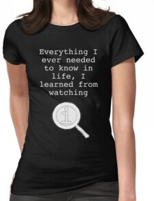 I learned from watching QI Womens Fitted T-Shirt