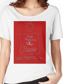 Child Predator Busters T-Shirt Women's Relaxed Fit T-Shirt
