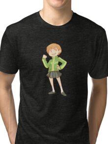 Persona 4 - Chie Satonaka Tri-blend T-Shirt
