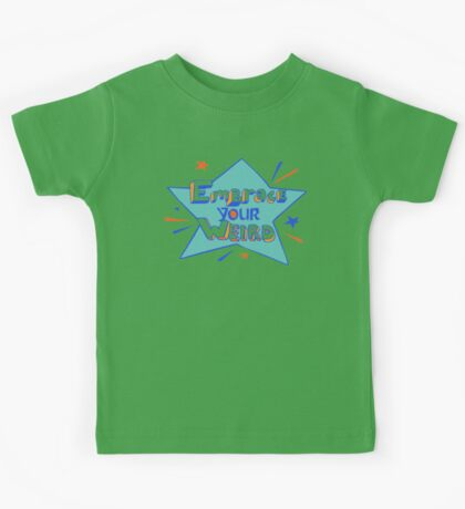 Official Felicia Day - Embrace Your Weird Apparel Kids Tee