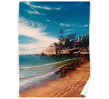 Balding Bay - Magnetic Island Poster
