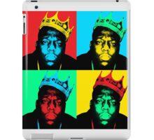 Biggie Warhol iPad Case/Skin