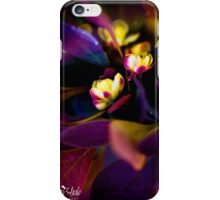 Shrub Blossoms iPhone Case/Skin
