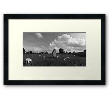 Avebury Stone Circle Framed Print