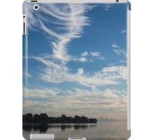 Of Feathery Clouds and Tranquil Mornings iPad Case/Skin