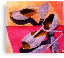 My Dancing Shoes Canvas Print
