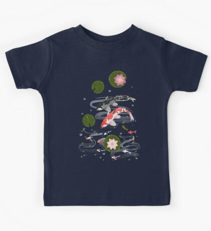 Pond with koi Kids Tee
