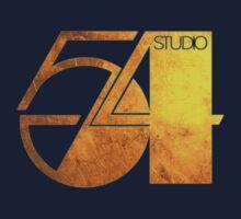 Studio 54 Golden Logo by TeaLeaves