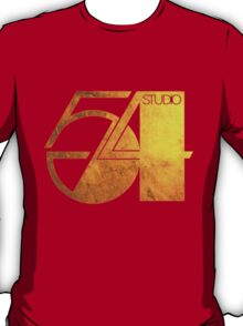 Studio 54 Golden Logo T-Shirt