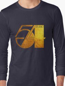 Studio 54 Golden Logo Long Sleeve T-Shirt