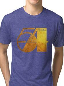 Studio 54 Golden Logo Tri-blend T-Shirt