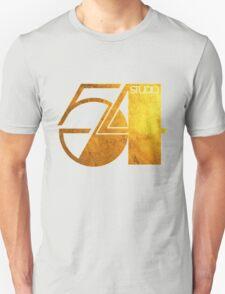 Studio 54 Golden Logo Unisex T-Shirt