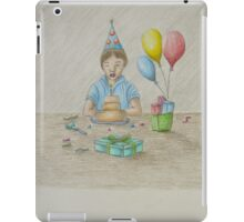 Birthday boy iPad Case/Skin