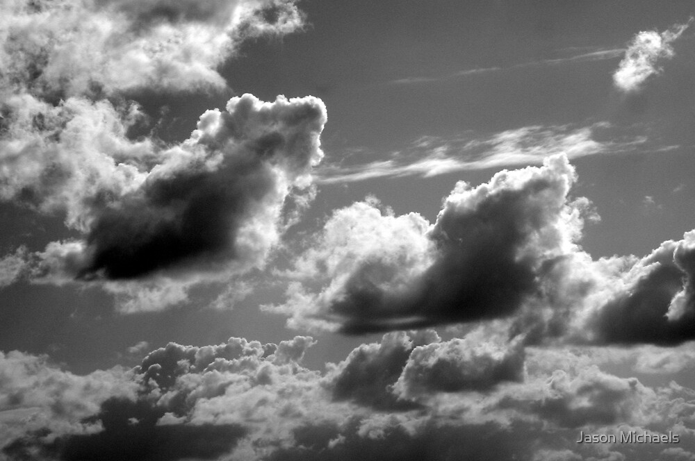 Fall Sky - Clouds by Jason Michaels