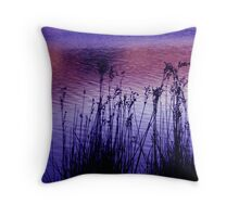 Reed sway Throw Pillow