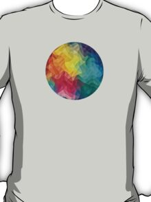 Abstract Color Wave Flash T-Shirt