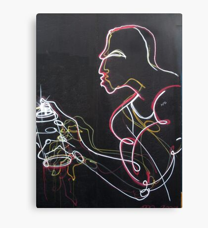 Graffiti Man Canvas Print