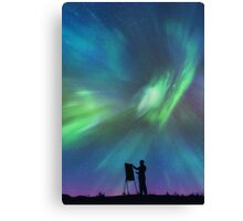 Borealis Painter Canvas Print