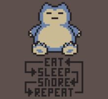The Snorlax Song Kids Clothes