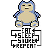 The Snorlax Song Photographic Print