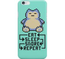 The Snorlax Song iPhone Case/Skin