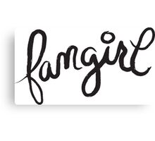 fangirl Canvas Print