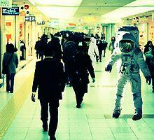 Commuting Spacemen by betelnut