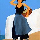 Greek Painting Waiting by timelessfancy