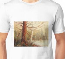 MOST POPULAR CANADIAN PAINTINGS AND PRINTS TREE AT RIVER'S EDGE CANADIAN ART Unisex T-Shirt