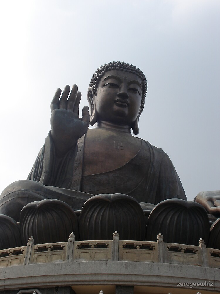 Full Frontal Buddha by zerogeewhiz