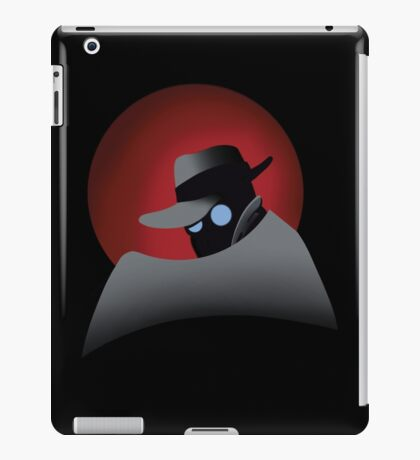 Beware the Gray Ghost!!! iPad Case/Skin