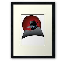 Beware the Gray Ghost!!! Framed Print