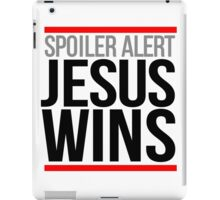Jesus Wins iPad Case/Skin
