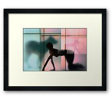 Body Language 23 Framed Print