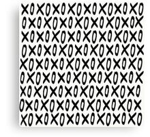XO Pattern Canvas Print