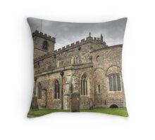 Saxon Church  Throw Pillow