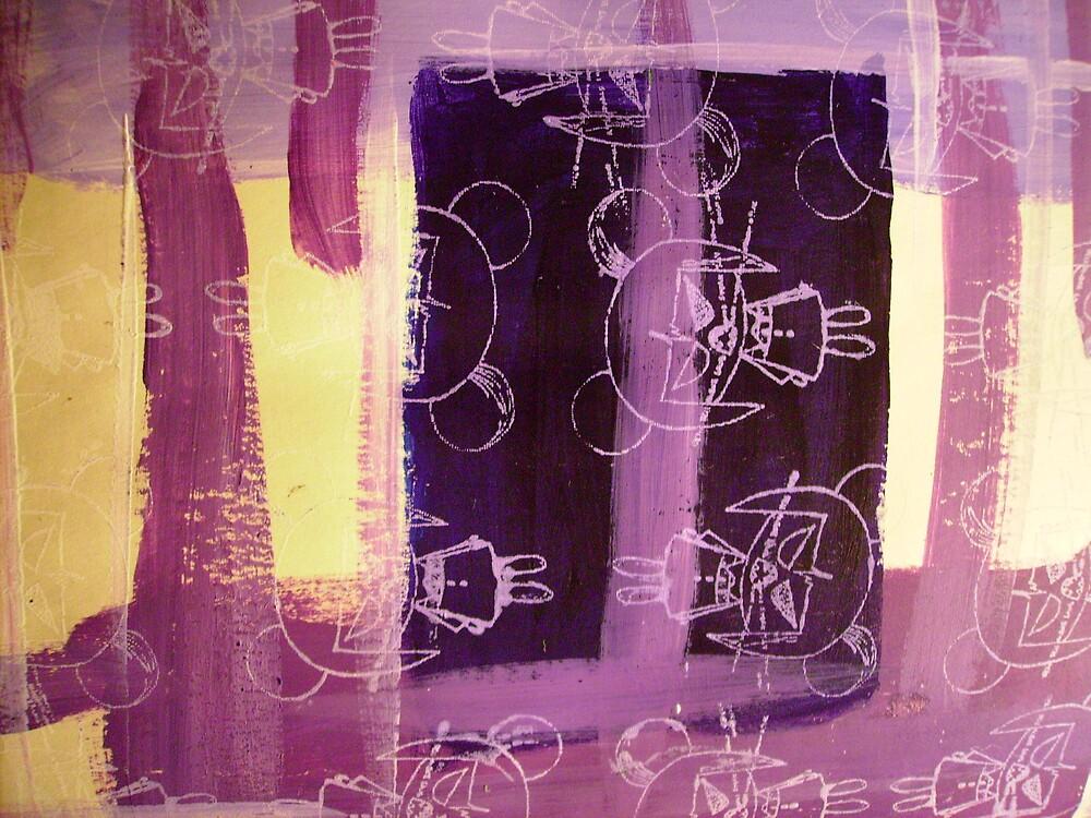 Ultra-Violet Ikos by Leesa Habener