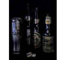 Japanese Beers Photographic Print