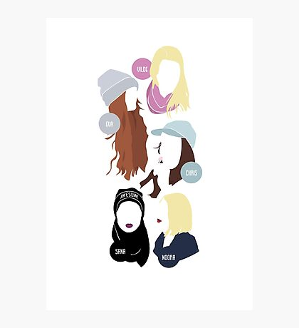 SKAM - The Girl Squad Version II. Photographic Print