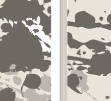 Glitch Homes Alakol deco splatter diptych Sticker