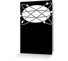 Men In Black universe Greeting Card
