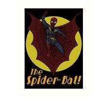 The Spider-Bat! Art Print