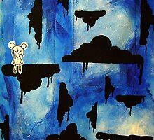 crowed clouds by Leesa Habener