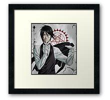 Black Butler: Sebastian Framed Print