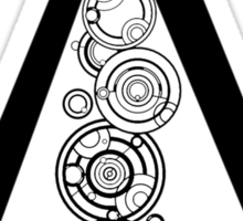 Assasins guild gallifrey (large) Sticker