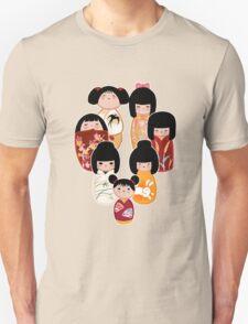Kokeshi in Autumn T-Shirt